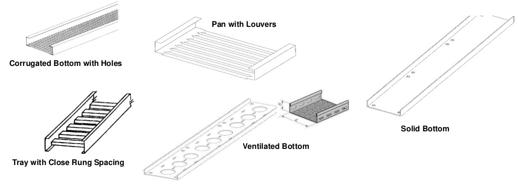 cable tray ladder trunking wire basket installation guidelines